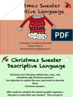 Descriptive Language Christmas Sweater Fun