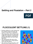 Settling and Floatation - Part 2