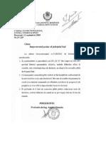 Adresa Parlamentul Romaniei Nr. 29 2003 - Teza de Doctorat