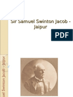 Seminar Sir Samuel Swinton Jacob - Jaipur