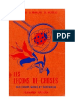 Leçons de choses Godier-Moreau 05 CM1-CM2-Certificat d'Etude