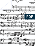 rachmaninov sonate no 1