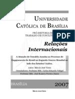 A Atuação de Oswaldo Aranha no Processo de Engajamento do Brasil na Segunda Guerra Mundial ao lado dos Estados Unidos.