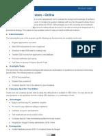 Product Sheet CES Online 0810