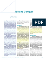 Trusts II; Divide and Conquer - By Alfred Adask