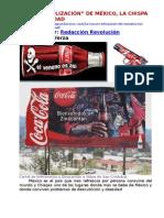 LA COCA-COLIZACIàN DE MXICO, LA CHISPA DE LA OBESIDAD Y LA MUERTE