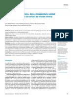 Puntos gatillo miofasciales, dolor, discapacidad y calidad del sueño en pacientes con cefalea de tensión crónica- estudio piloto
