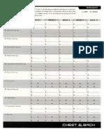 P90x - Workout Logsheets