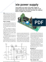 Build a Nixie Power Supply