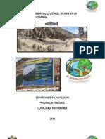 PRODUCCIÓN Y COMERCIALIZACIÓN DE TRUCHA EN LA LOCALIDAD DE MAYOBAMBA