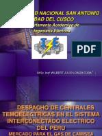 Despacho de Centrales Termoelectricas-1