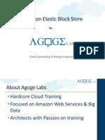 Agoge Labs Amazon Elastic Block Store