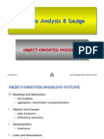 Object oriented modelling
