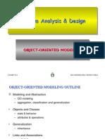 Object oriented modelling
