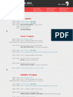 Program Ideo Ideis 2013
