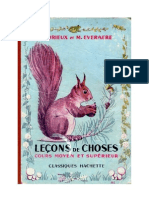Leçons de Choses Orieux-Everaere 05 CM-CS