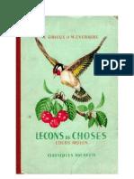 Leçons de Choses Orieux-Everaere 04 CM1-CM2