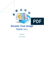 Acronis True Image Home 2012 Manual