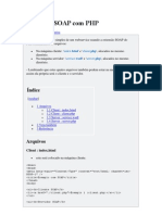 Utilizando SOAP Com PHP