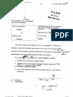 54520504 Dismissed Bank of America v Melissa Limato