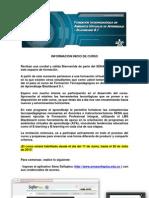 INFORMACIÓN INICIO DE CURSO FTPAVA