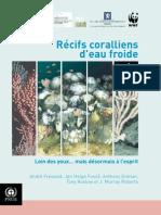 Récifs coralliens eaux froides