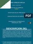 Presentación trabajo inVestigacion HAGA