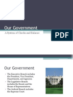 our government lesson outline