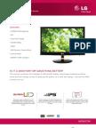 LG LED Monitor IPS236V Specification