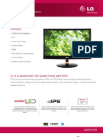 LG LED Monitor IPS236V Specification