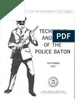 Police Baton Manual