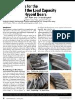 Bevel Gear Load Capacity