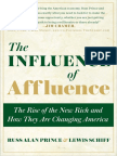 The Influence of Affluence, by Russ Alan Prince and Lewis Schiff - Excerpt