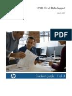 HP-UX 11i v3 Delta Support - Student Guide Part 1