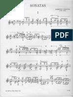 Three Sonatas, Tr Bream