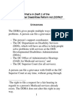 Ddra Fact Sheet - Grievances 01-26-09 - Large Print