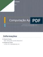 Introdução - Computação Aplicada