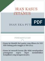 Lapsus Tetanus