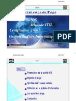 Etude conception et réalisation d'un parc informatique, Méthodes EBIOS et ITIL