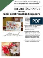2 days Fábio Cembranelli in Singapore - brochure