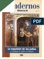 Cuadernos Historia 16, nº 099 - La Expulsión de los Judíos