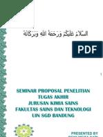 Seminar Proposal