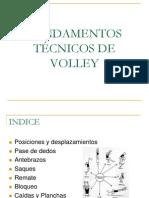 Voley Fundamentos Tecnicos de Voley