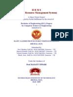 Human Resorce Managment System Final Project 2009-II