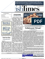 Jewish Times - Volume I,No. 13...May 3, 2002