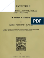 James Freeman Clarke - Self-Culture by Reading and Books