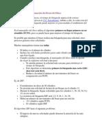 Algoritmos de Programación del Brazo del Disco 2