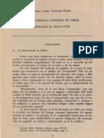 La encomienda indígena en Chile, María Isabel González, PUC
