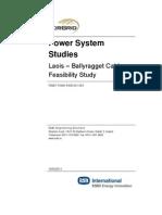 Appendix a-4 Power System Studies Cable Feasibility