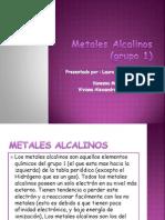 Grupo 1 Metales Alcalinos